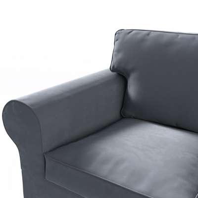 Pokrowiec na sofę Ektorp 3-osobową, rozkładaną w kolekcji Velvet, tkanina: 704-12