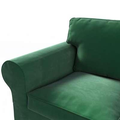 Pokrowiec na sofę Ektorp 3-osobową, rozkładaną w kolekcji Velvet, tkanina: 704-13