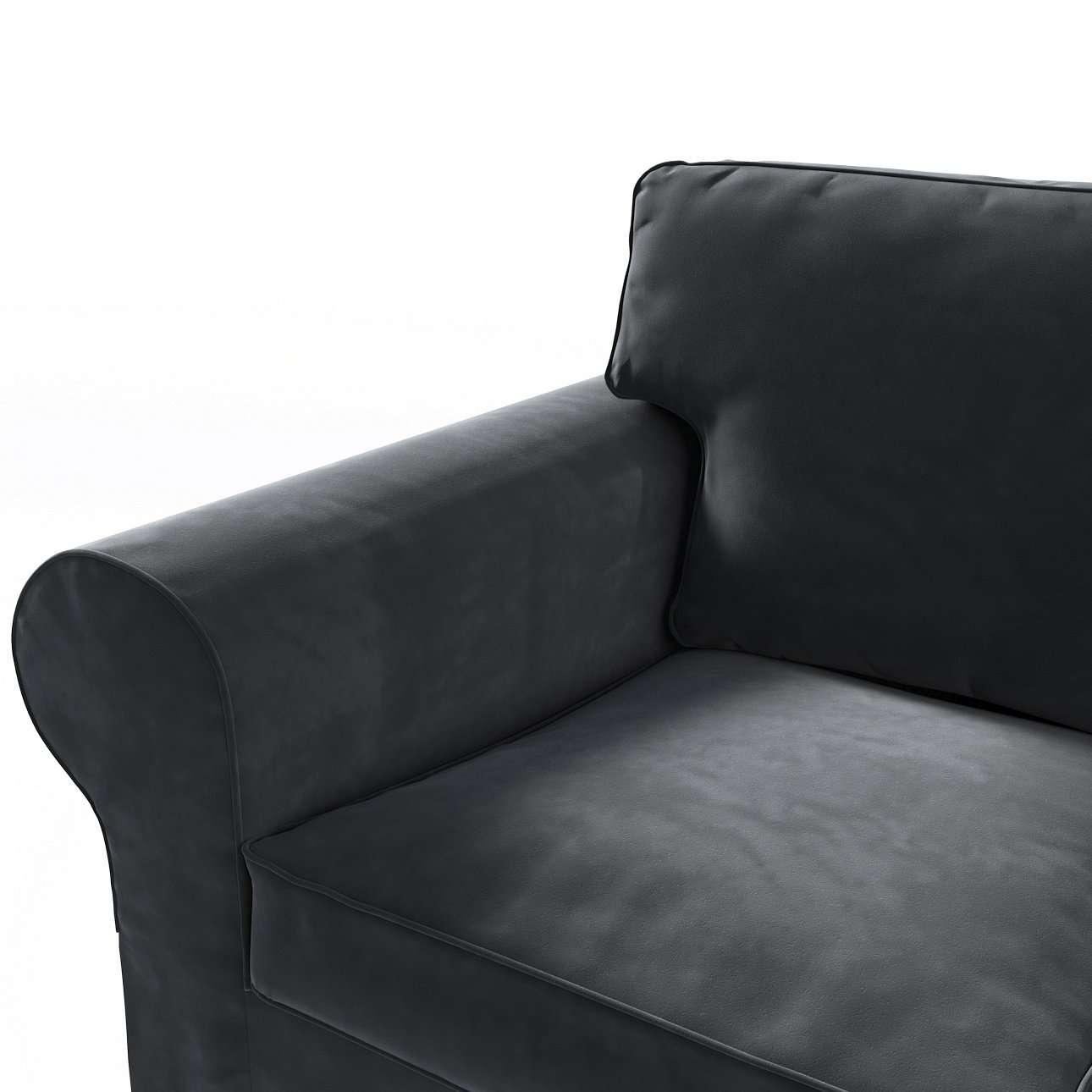 Pokrowiec na sofę Ektorp 3-osobową, rozkładaną w kolekcji Velvet, tkanina: 704-17