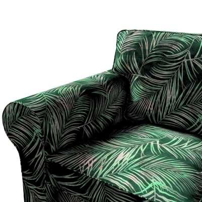 Pokrowiec na sofę Ektorp 3-osobową, rozkładaną w kolekcji Velvet, tkanina: 704-21