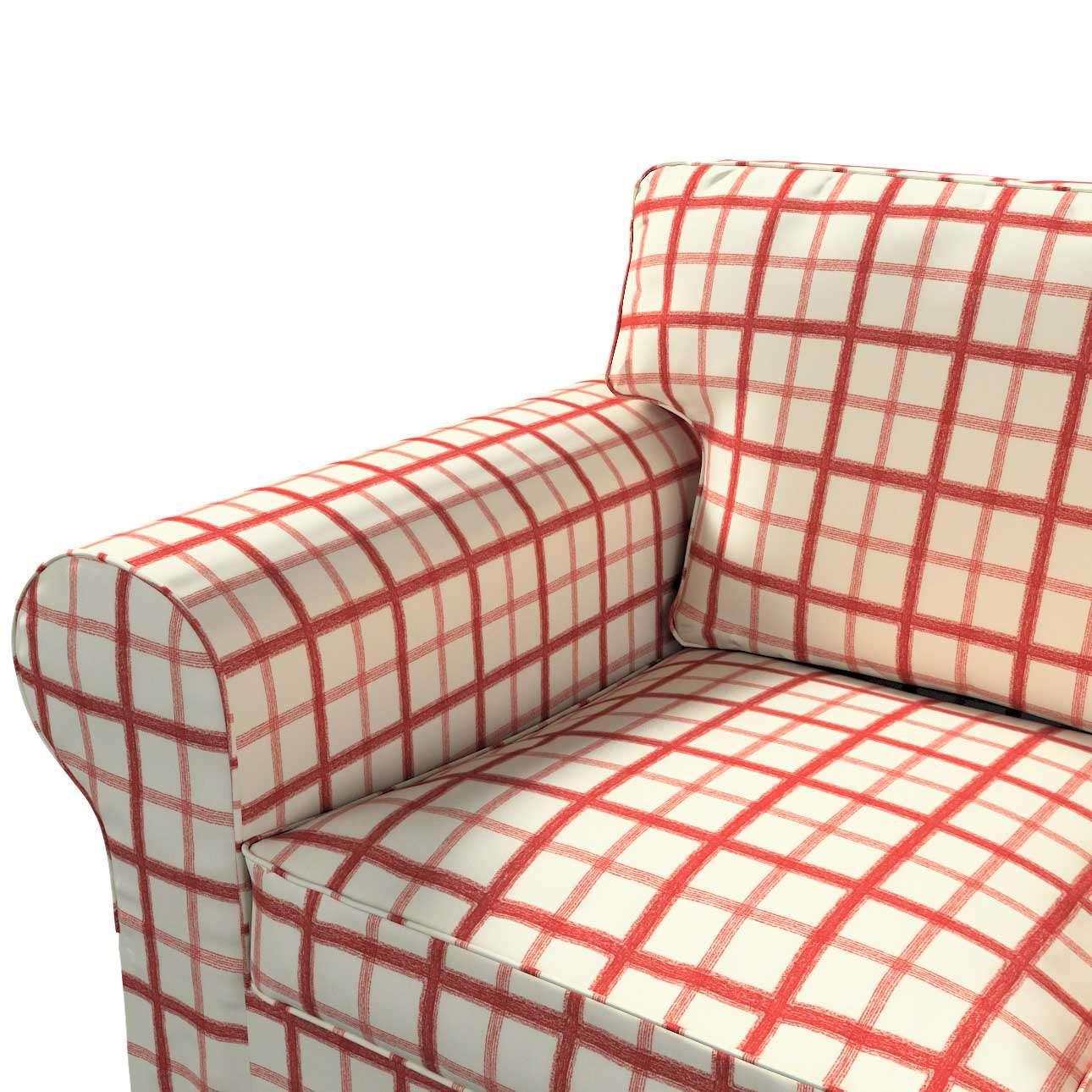 Pokrowiec na sofę Ektorp 3-osobową, rozkładaną NOWY MODEL 2013 Ektorp 3-os rozkładany nowy model 2013 w kolekcji Avinon, tkanina: 131-15