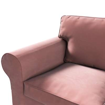 Pokrowiec na sofę Ektorp 3-osobową, rozkładaną w kolekcji Velvet, tkanina: 704-30