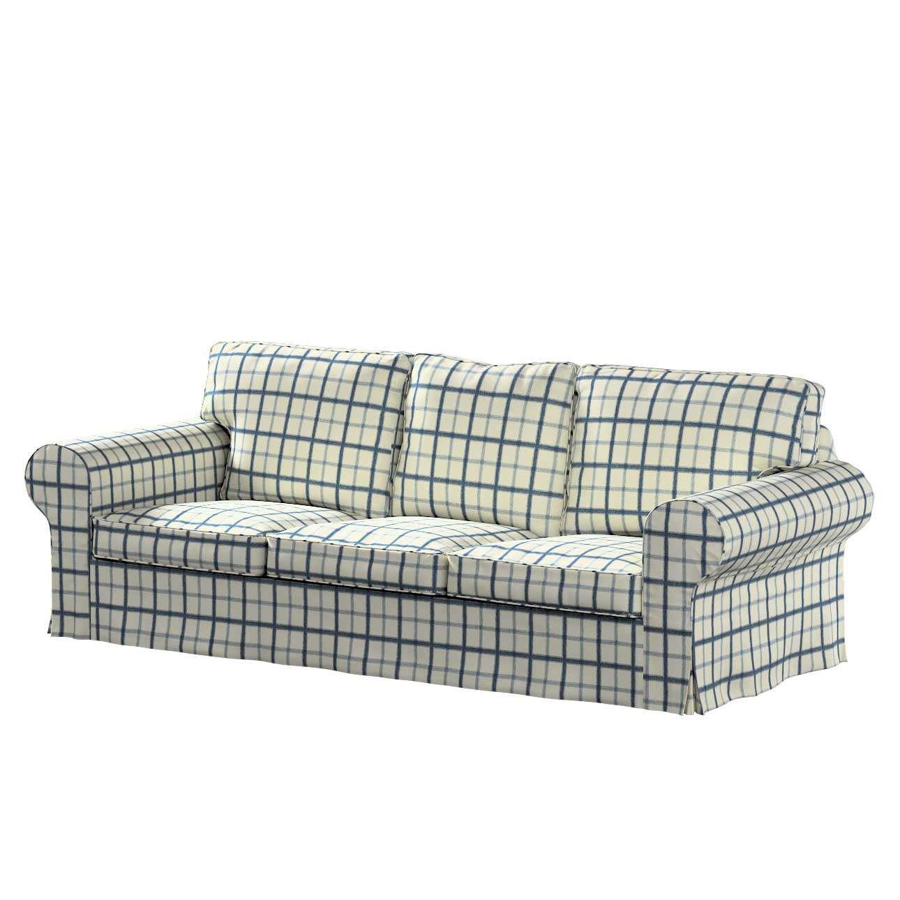 Pokrowiec na sofę Ektorp 3-osobową, rozkładaną NOWY MODEL 2013 w kolekcji Avinon, tkanina: 131-66