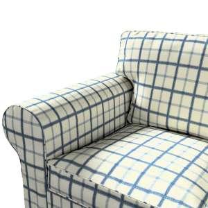 Pokrowiec na sofę Ektorp 3-osobową, rozkładaną NOWY MODEL 2013 Ektorp 3-os rozkładany nowy model 2013 w kolekcji Avinon, tkanina: 131-66