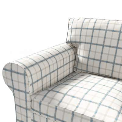 Pokrowiec na sofę Ektorp 3-osobową, rozkładaną w kolekcji Avinon, tkanina: 131-66