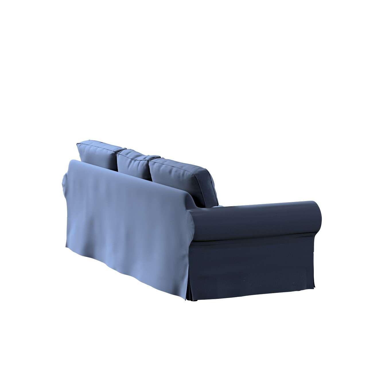 Pokrowiec na sofę Ektorp 3-osobową, rozkładaną w kolekcji Ingrid, tkanina: 705-39