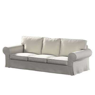 Pokrowiec na sofę Ektorp 3-osobową, rozkładaną w kolekcji Ingrid, tkanina: 705-40