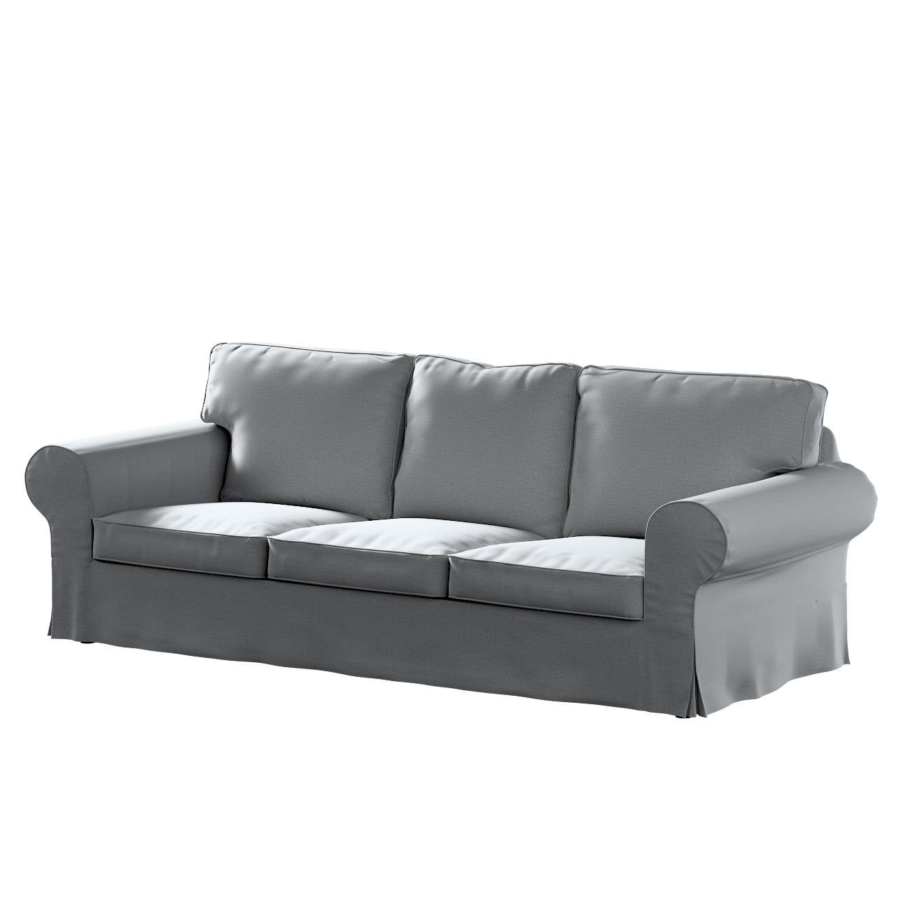 Pokrowiec na sofę Ektorp 3-osobową, rozkładaną w kolekcji Ingrid, tkanina: 705-42