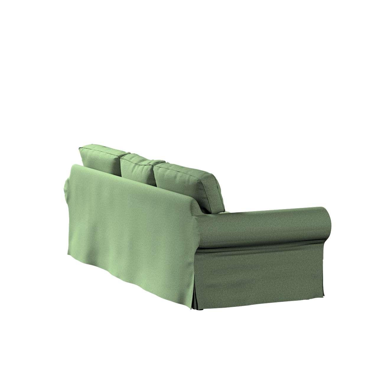 Pokrowiec na sofę Ektorp 3-osobową, rozkładaną w kolekcji Amsterdam, tkanina: 704-44