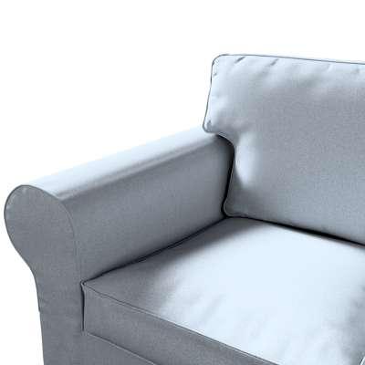 Pokrowiec na sofę Ektorp 3-osobową, rozkładaną w kolekcji Amsterdam, tkanina: 704-46