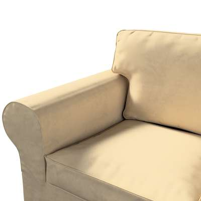 Pokrowiec na sofę Ektorp 3-osobową, rozkładaną w kolekcji Living II, tkanina: 160-82