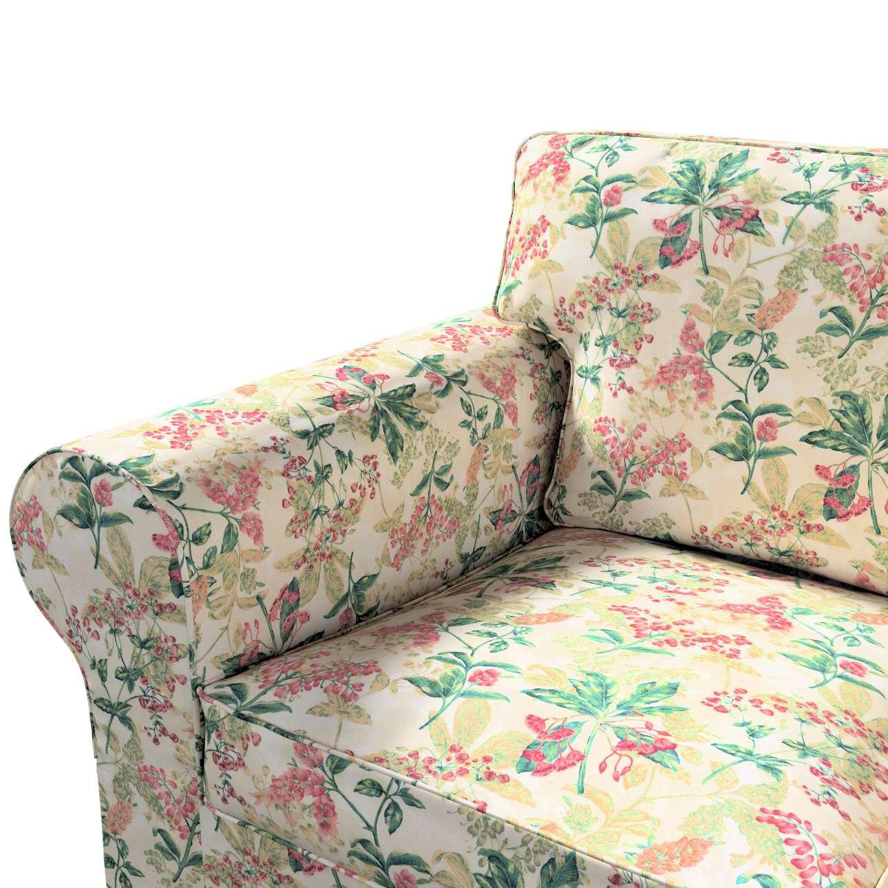 Pokrowiec na sofę Ektorp 3-osobową, rozkładaną w kolekcji Londres, tkanina: 143-41