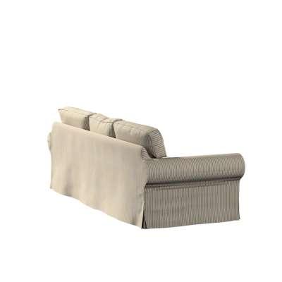 Pokrowiec na sofę Ektorp 3-osobową, rozkładaną w kolekcji Londres, tkanina: 143-38
