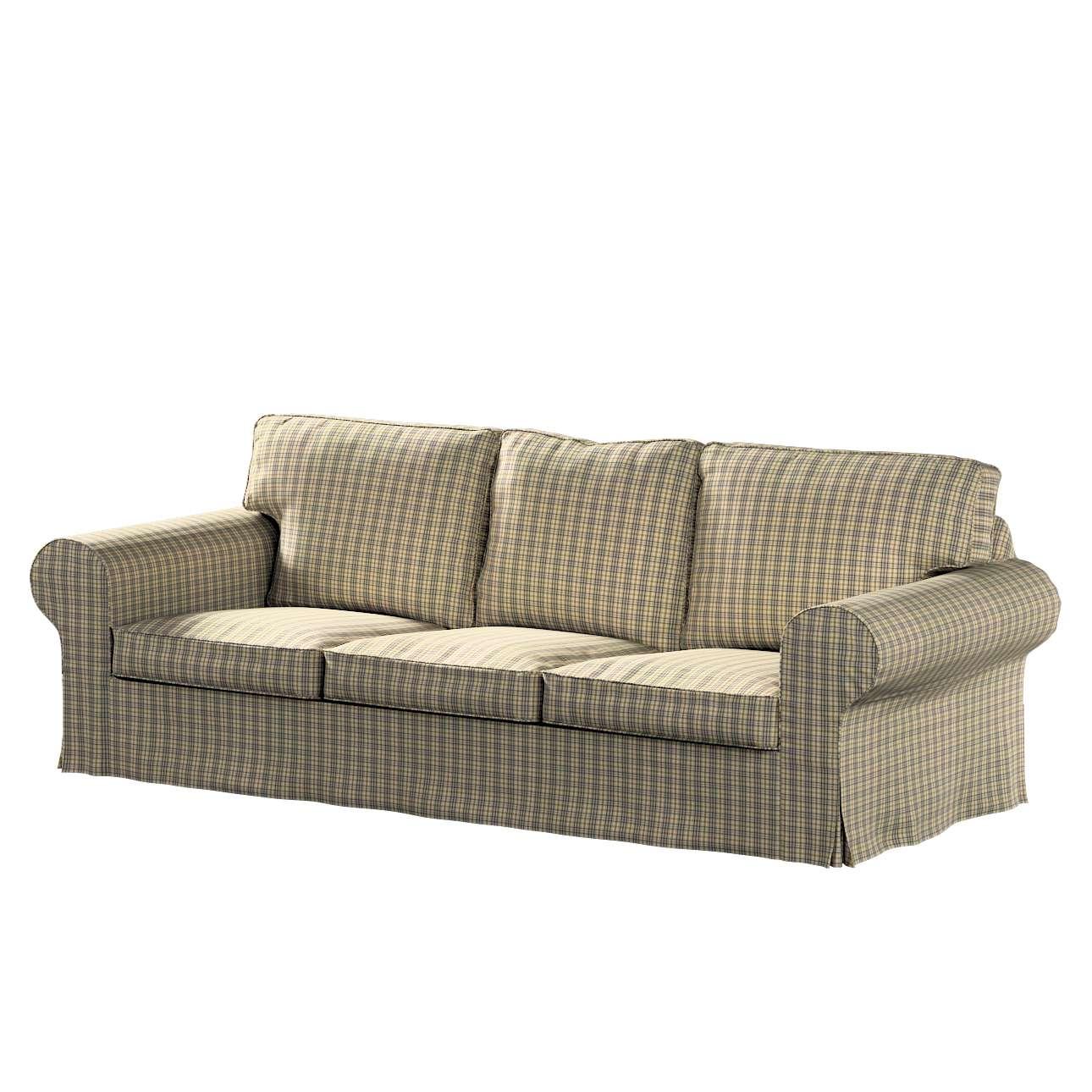Pokrowiec na sofę Ektorp 3-osobową, rozkładaną w kolekcji Londres, tkanina: 143-39