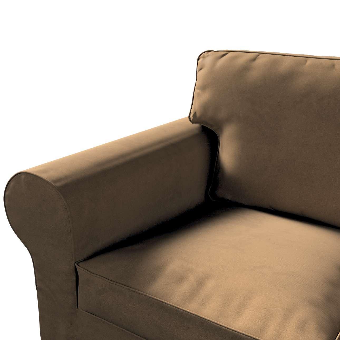 Pokrowiec na sofę Ektorp 3-osobową, rozkładaną w kolekcji Living II, tkanina: 160-94