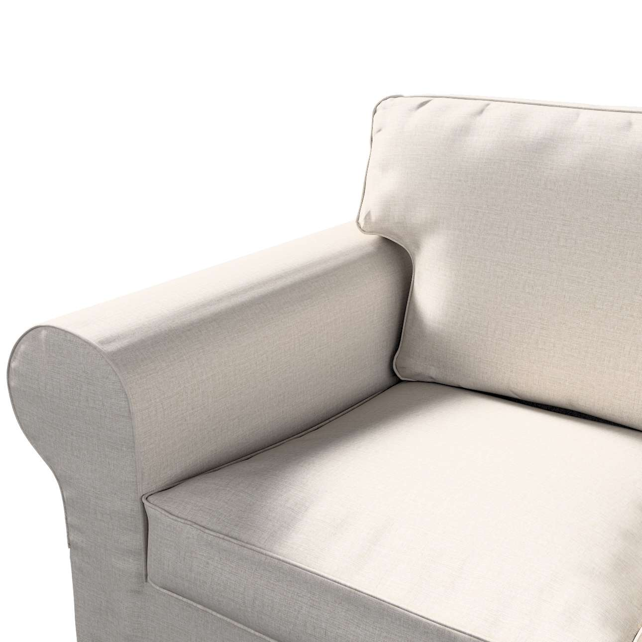 Pokrowiec na sofę Ektorp 3-osobową, rozkładaną w kolekcji Living II, tkanina: 161-00