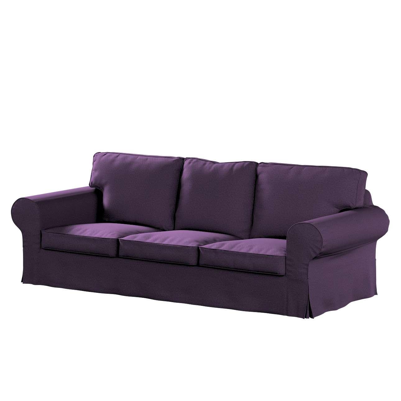 Pokrowiec na sofę Ektorp 3-osobową, rozkładaną w kolekcji Etna, tkanina: 161-27