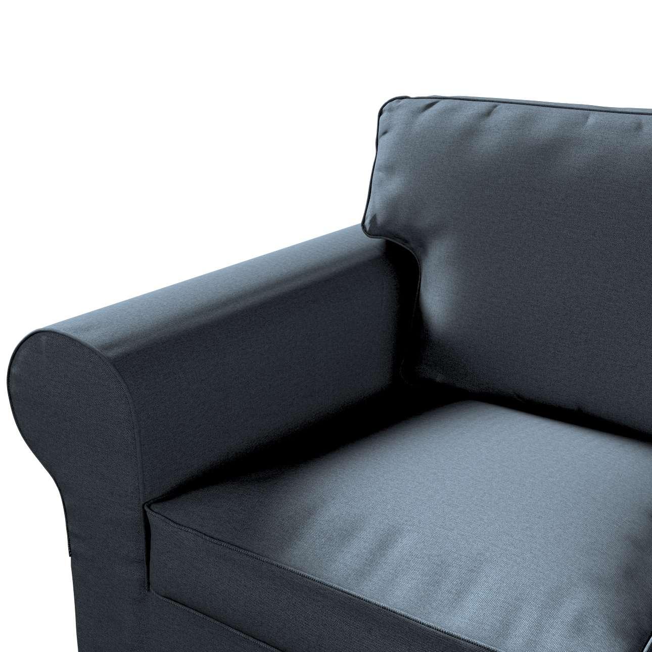 Pokrowiec na sofę Ektorp 3-osobową, rozkładaną w kolekcji Etna, tkanina: 705-30