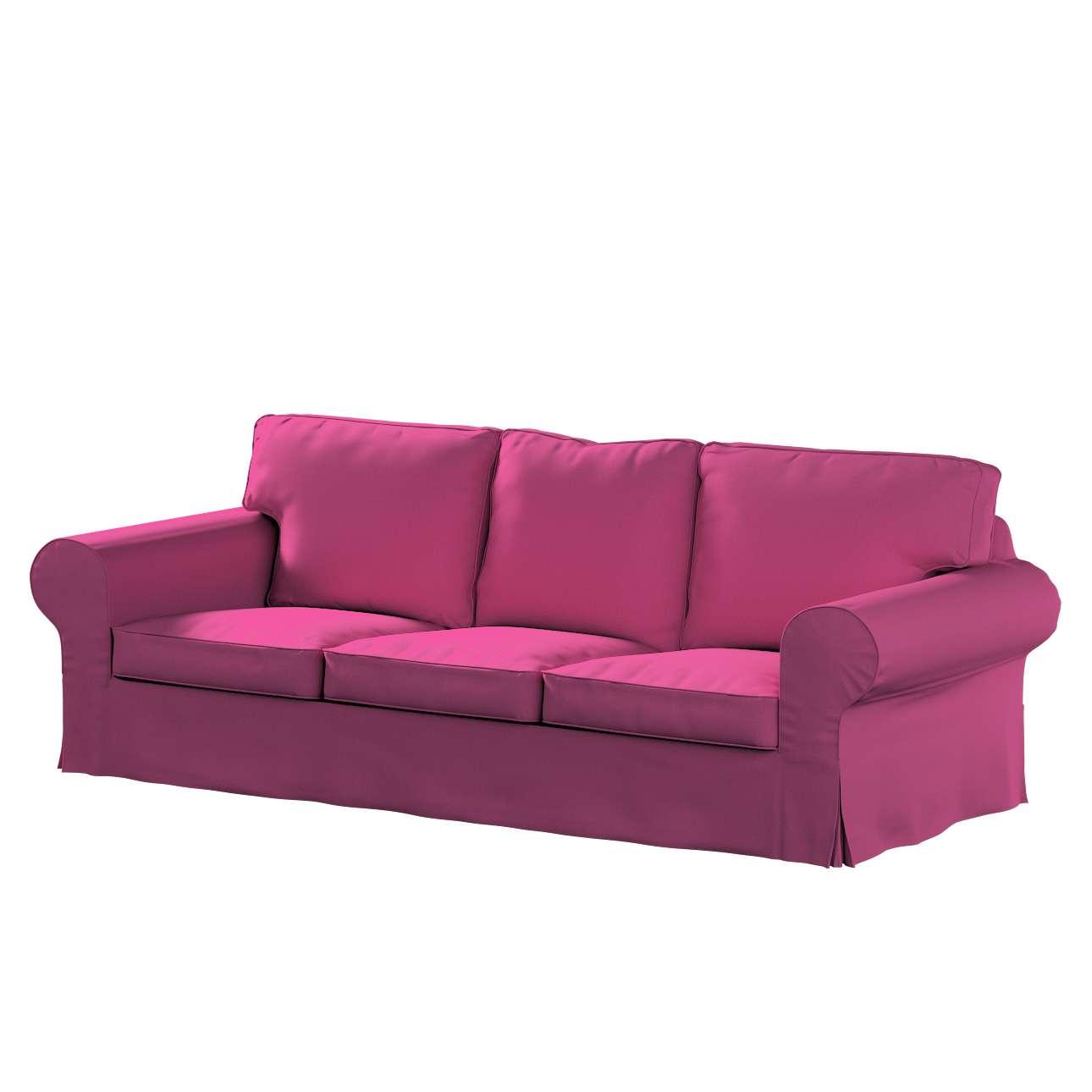 Pokrowiec na sofę Ektorp 3-osobową, rozkładaną w kolekcji Living II, tkanina: 161-29