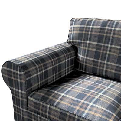 Pokrowiec na sofę Ektorp 3-osobową, rozkładaną w kolekcji Edinburgh, tkanina: 703-16
