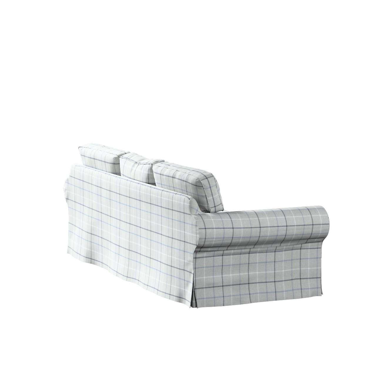 Pokrowiec na sofę Ektorp 3-osobową, rozkładaną w kolekcji Edinburgh, tkanina: 703-18