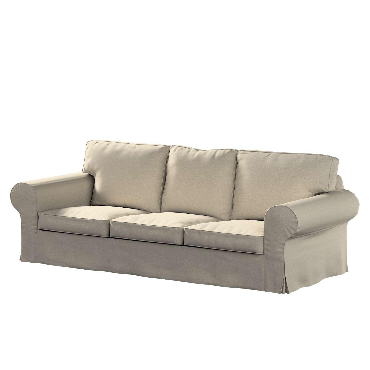 Pokrowiec na sofę Ektorp 3-osobową, rozkładaną w kolekcji Amsterdam, tkanina: 704-52