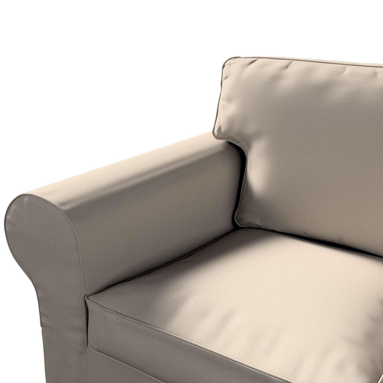 Pokrowiec na sofę Ektorp 3-osobową, rozkładaną w kolekcji Living, tkanina: 161-53