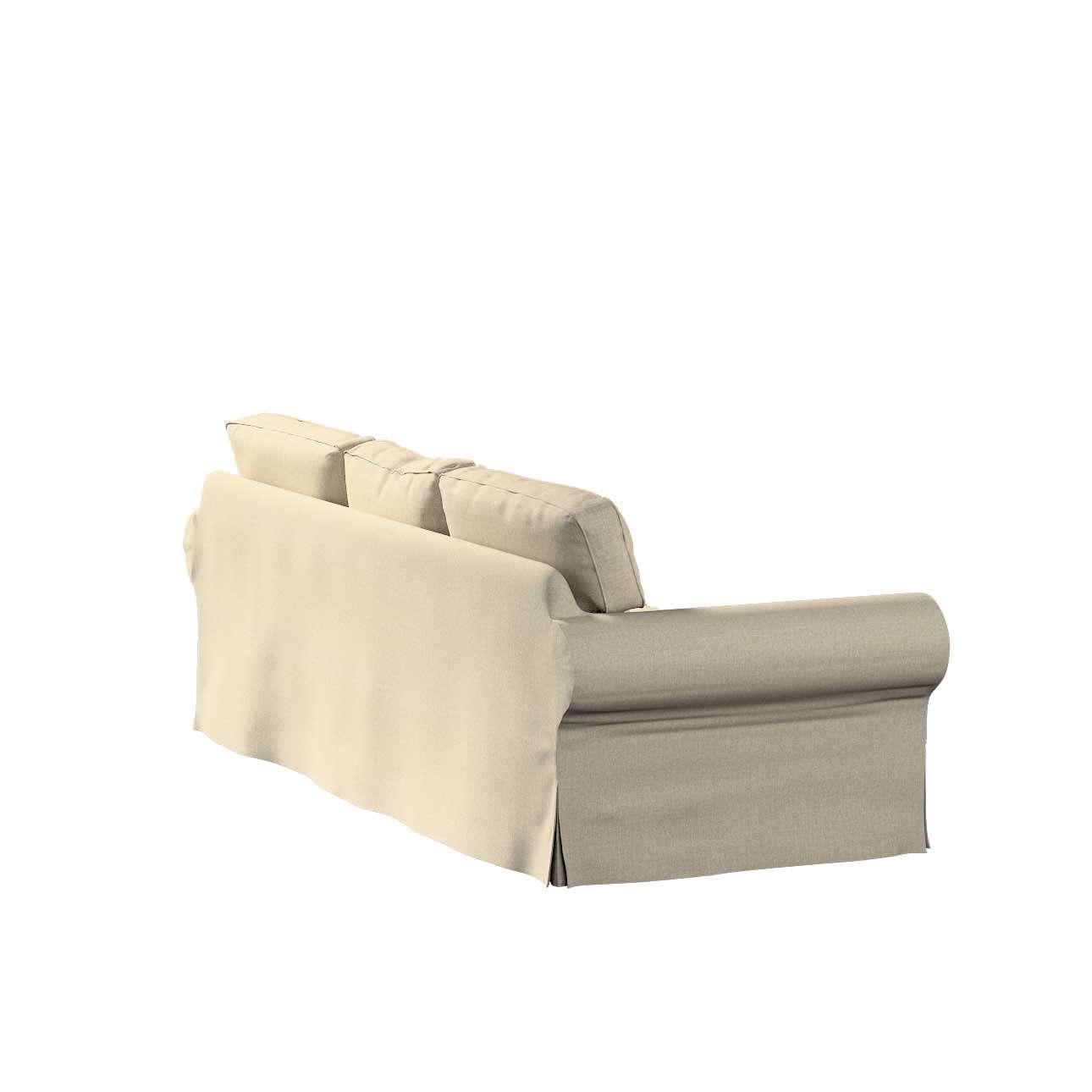 Pokrowiec na sofę Ektorp 3-osobową, rozkładaną w kolekcji City, tkanina: 704-80