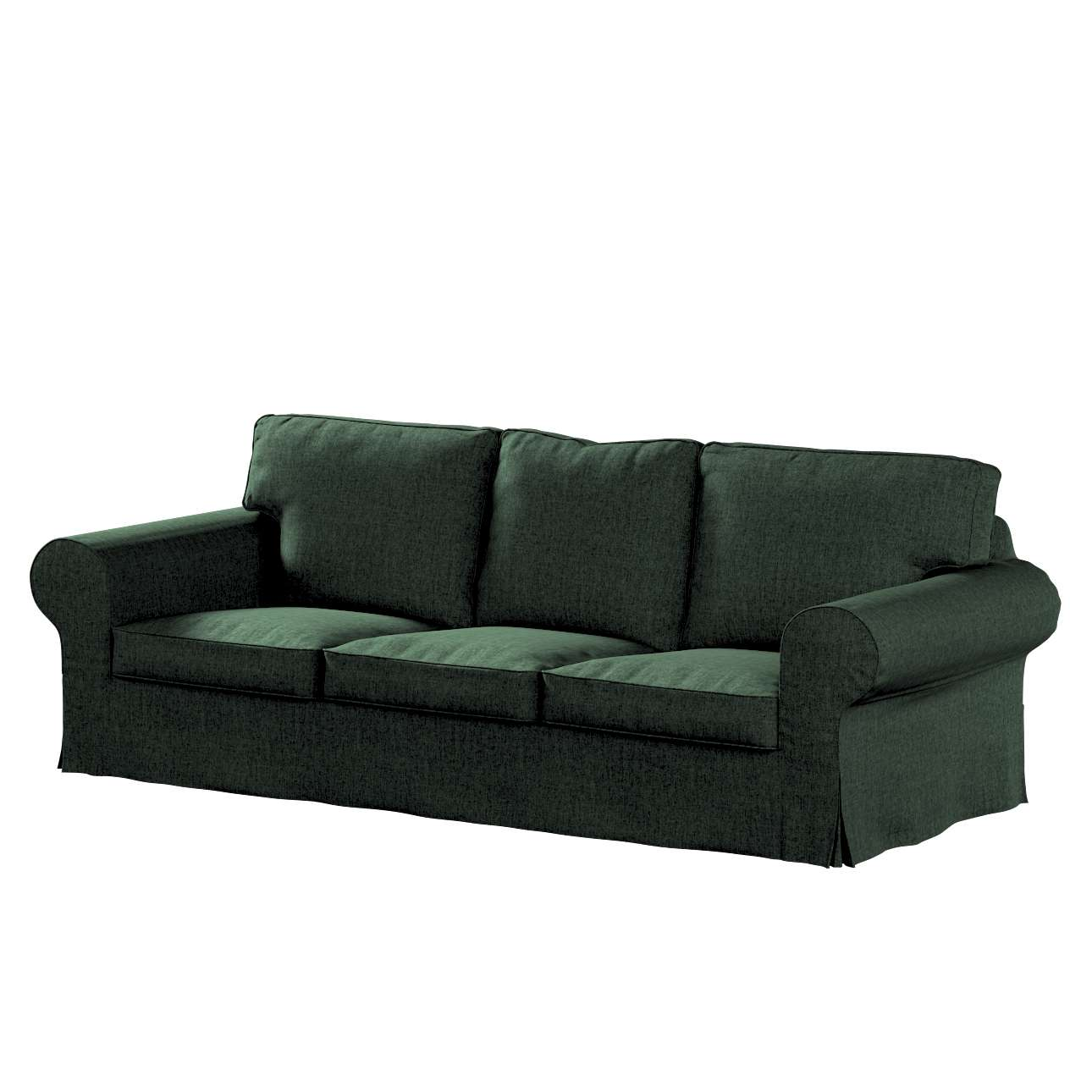 Pokrowiec na sofę Ektorp 3-osobową, rozkładaną w kolekcji City, tkanina: 704-81