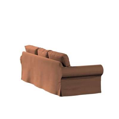Pokrowiec na sofę Ektorp 3-osobową, rozkładaną w kolekcji Living, tkanina: 161-65