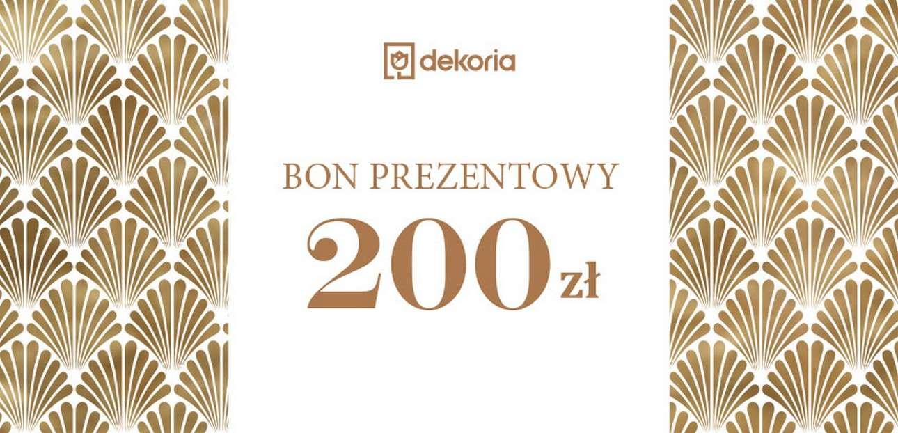 Bon prezentowy 200 zł Bon