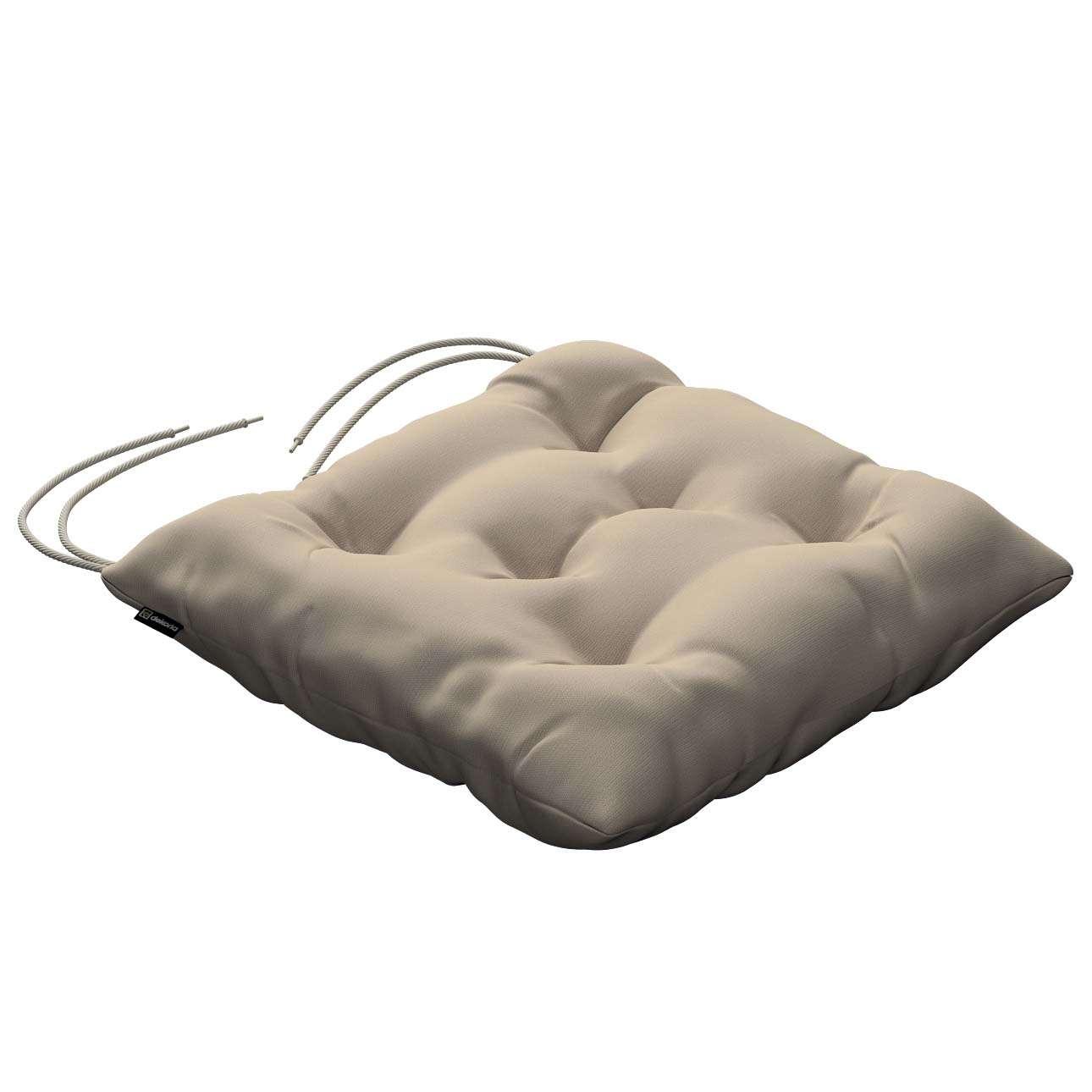 Siedzisko Jacek na krzesło 38x38x8cm w kolekcji Cotton Panama, tkanina: 702-01