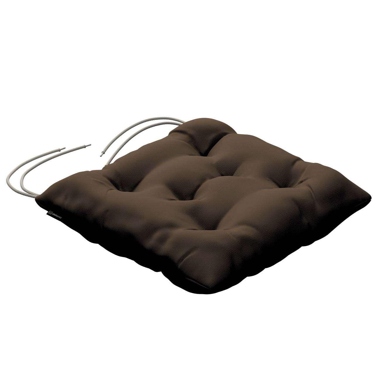 Siedzisko Jacek na krzesło w kolekcji Cotton Panama, tkanina: 702-02