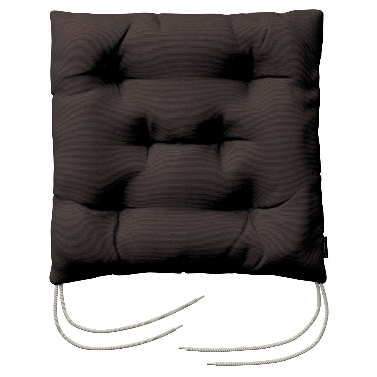 Siedzisko Jacek na krzesło 38x38x8cm w kolekcji Cotton Panama, tkanina: 702-03