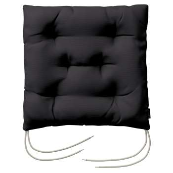 Jack seat pad with ties 40 × 40 × 8 cm (16 × 16 × 3 inch) in collection Panama Cotton, fabric: 702-08