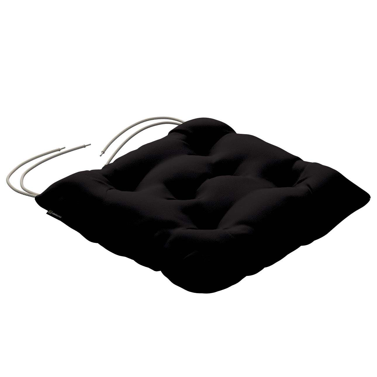Jack seat pad with ties 40 × 40 × 8 cm (16 × 16 × 3 inch) in collection Panama Cotton, fabric: 702-09