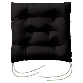 Jacek seat pad with ties 40 x 40 x 8 cm (16 x 16 x 3 inch) in collection Panama Cotton, fabric: 702-09