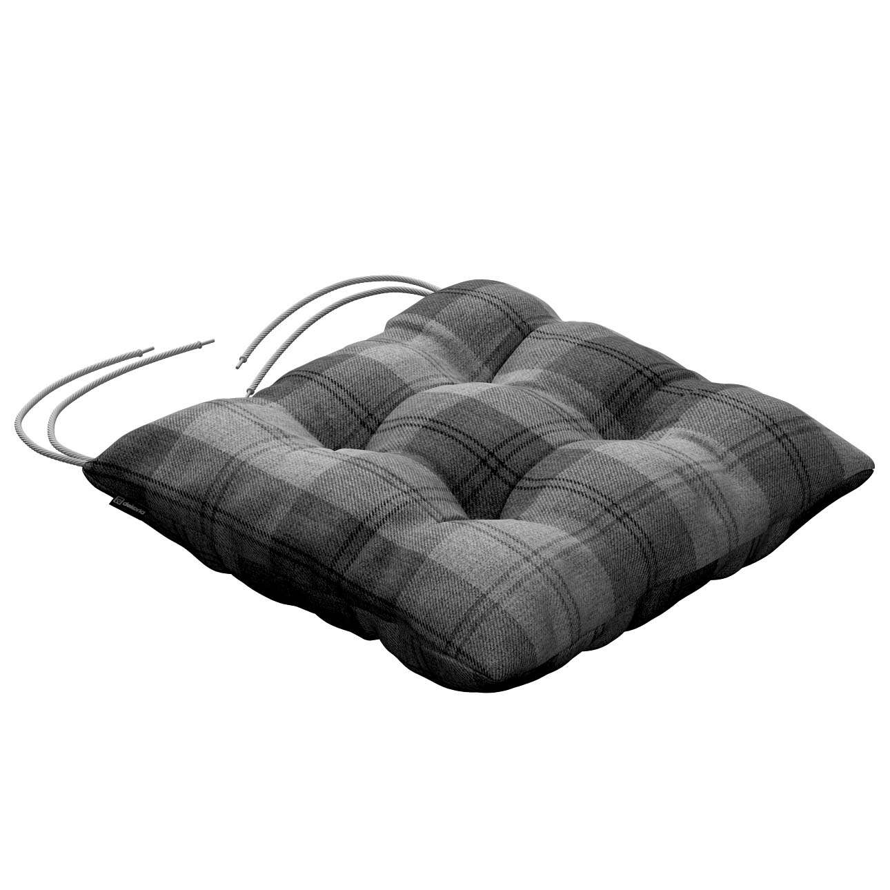 Jack seat pad with ties in collection Edinburgh, fabric: 115-75