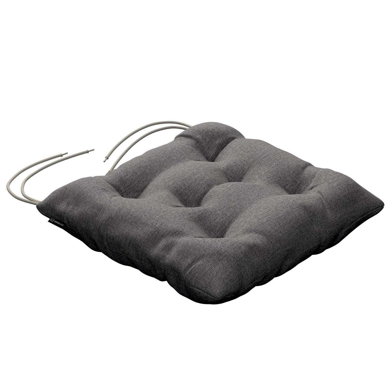 Siedzisko Jacek na krzesło 40x40x8cm w kolekcji Edinburgh, tkanina: 115-81