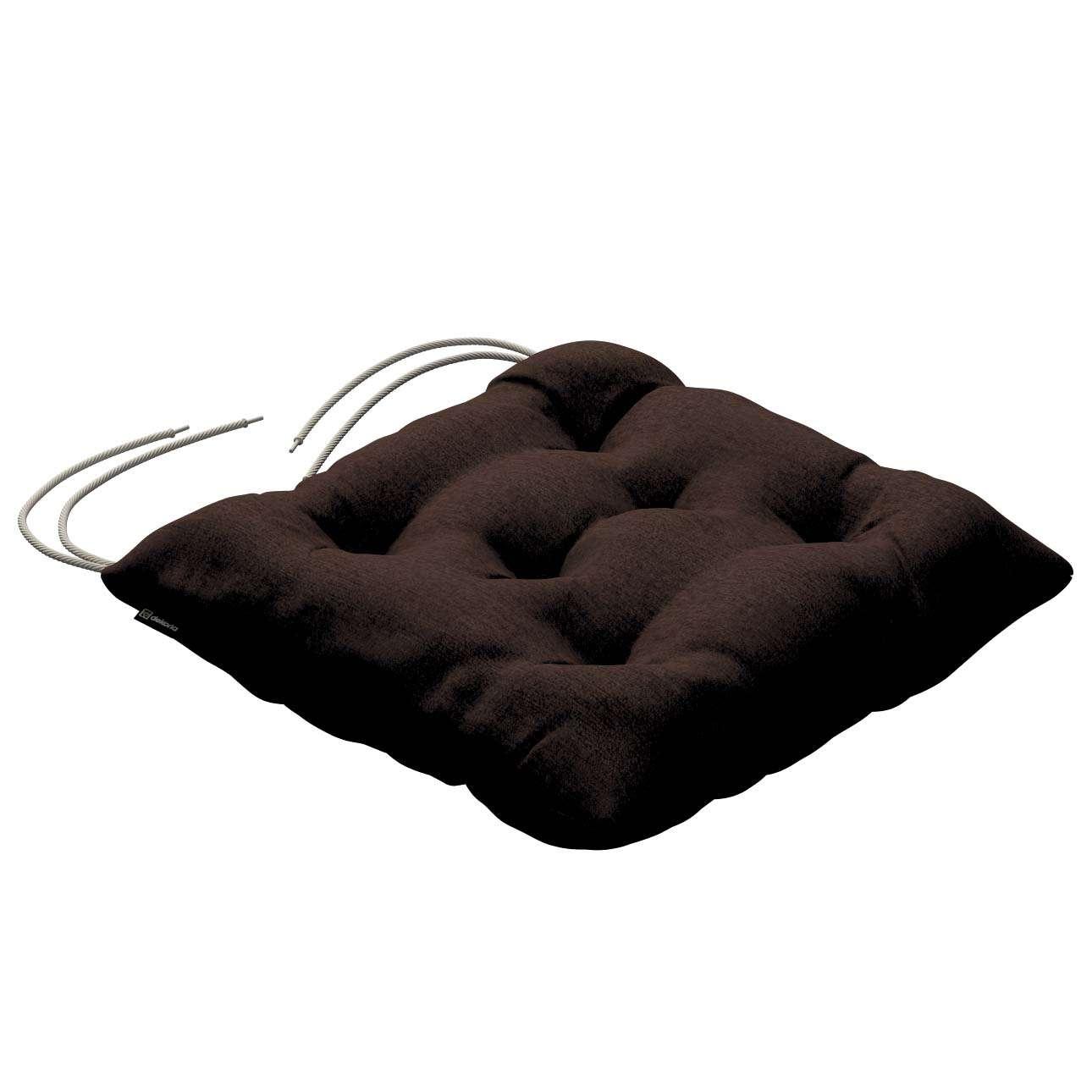 Siedzisko Jacek na krzesło 38x38x8cm w kolekcji Chenille, tkanina: 702-18