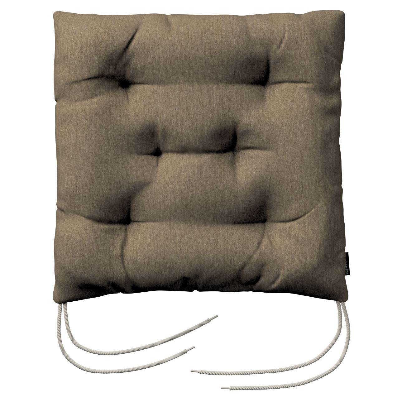 Jack seat pad with ties in collection Chenille, fabric: 702-21