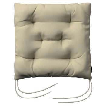 Jacek seat pad with ties 40 x 40 x 8 cm (16 x 16 x 3 inch) in collection Chenille, fabric: 702-22