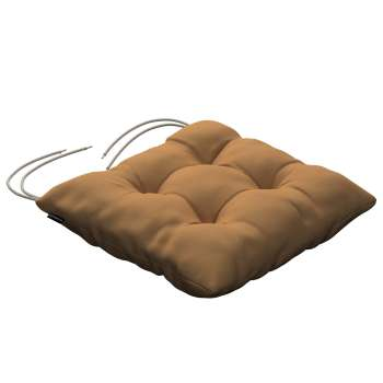 Jacek seat pad with ties 40 x 40 x 8 cm (16 x 16 x 3 inch) in collection Loneta , fabric: 133-12