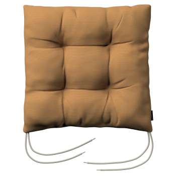 Jack seat pad with ties 40 × 40 × 8 cm (16 × 16 × 3 inch) in collection Loneta , fabric: 133-12