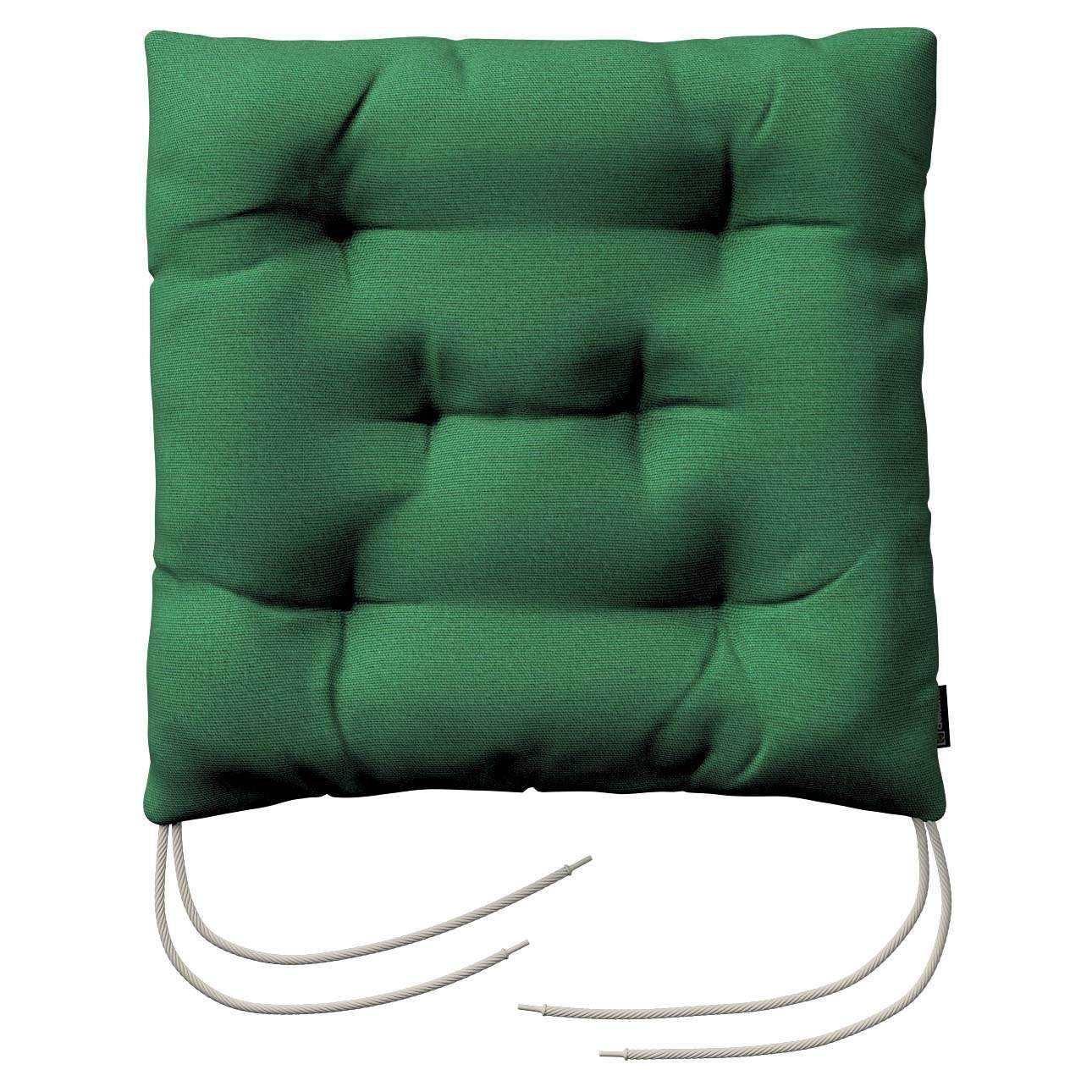 Siedzisko Jacek na krzesło 38x38x8cm w kolekcji Loneta, tkanina: 133-18