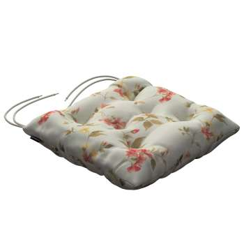 Jack seat pad with ties in collection Londres, fabric: 124-65