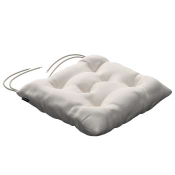 Jacek seat pad with ties 40 x 40 x 8 cm (16 x 16 x 3 inch) in collection Etna, fabric: 705-01