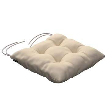 Jacek seat pad with ties 40 x 40 x 8 cm (16 x 16 x 3 inch) in collection Panama Cotton, fabric: 702-29