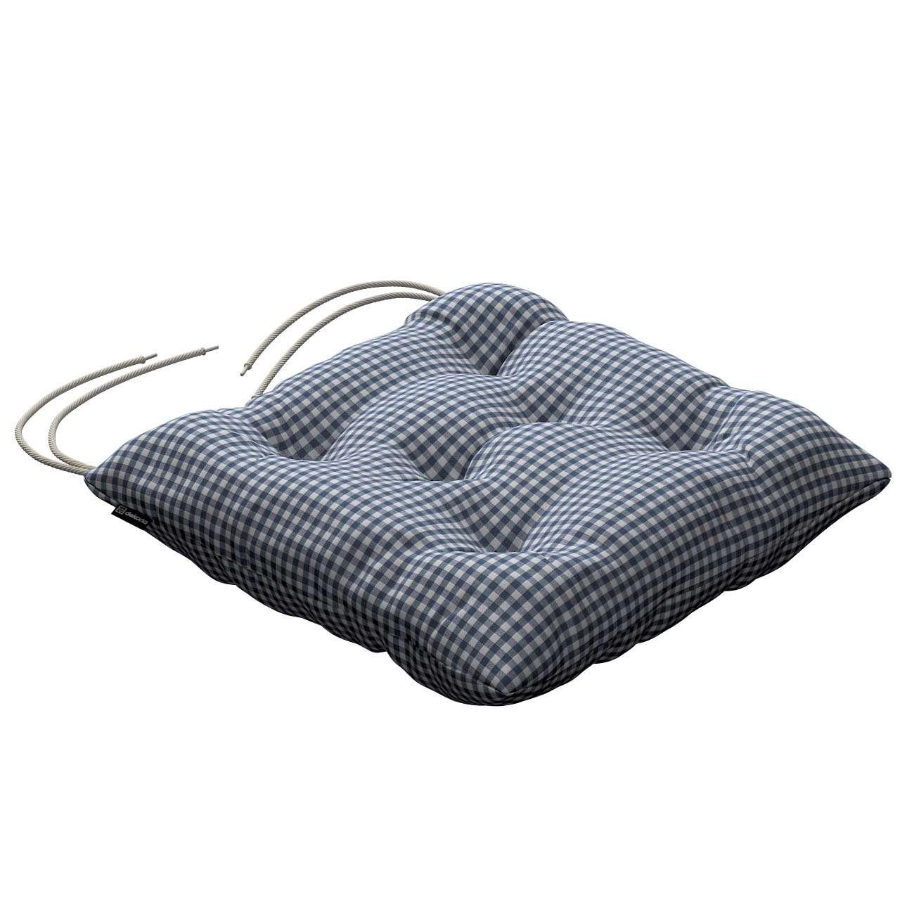 Siedzisko Jacek na krzesło 38x38x8cm w kolekcji Quadro, tkanina: 136-00