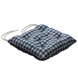 Siedzisko Jacek na krzesło 38x38x8cm w kolekcji Quadro, tkanina: 136-01